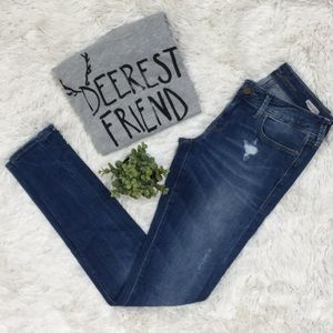 Mavi Serena Skinny Jeans 💗 Blue Distressed